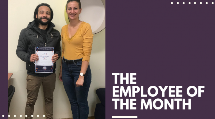 THE EMPLOYEE OF THE MONTH – Ibrahim Alaa Eldin