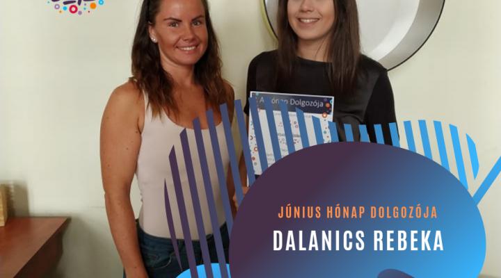 Június hónap dolgozója: Dalanics Rebeka